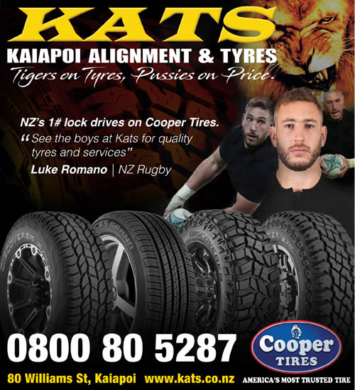 See the boys at KATS for quality tyres and service